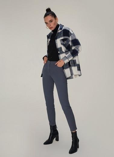 NGSTYLE Beş Cepli Skinny Pantolon Antrasit